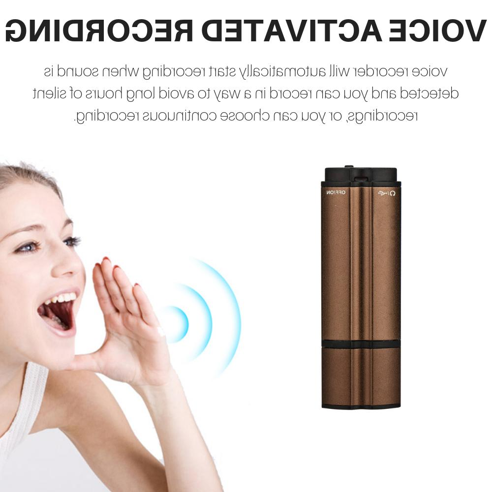 Spy Recorder Voice Activated Microphone Sound