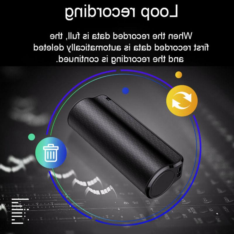 16G Voice Activated Recorder Mini Magnetic