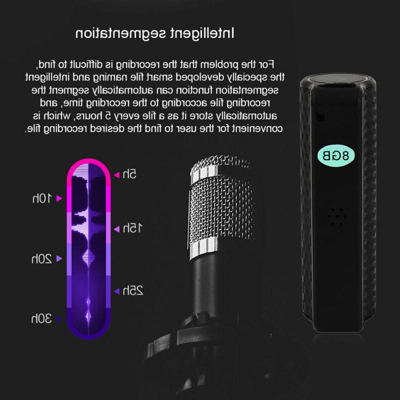 16G/8G Digital Voice Activated Magnetic