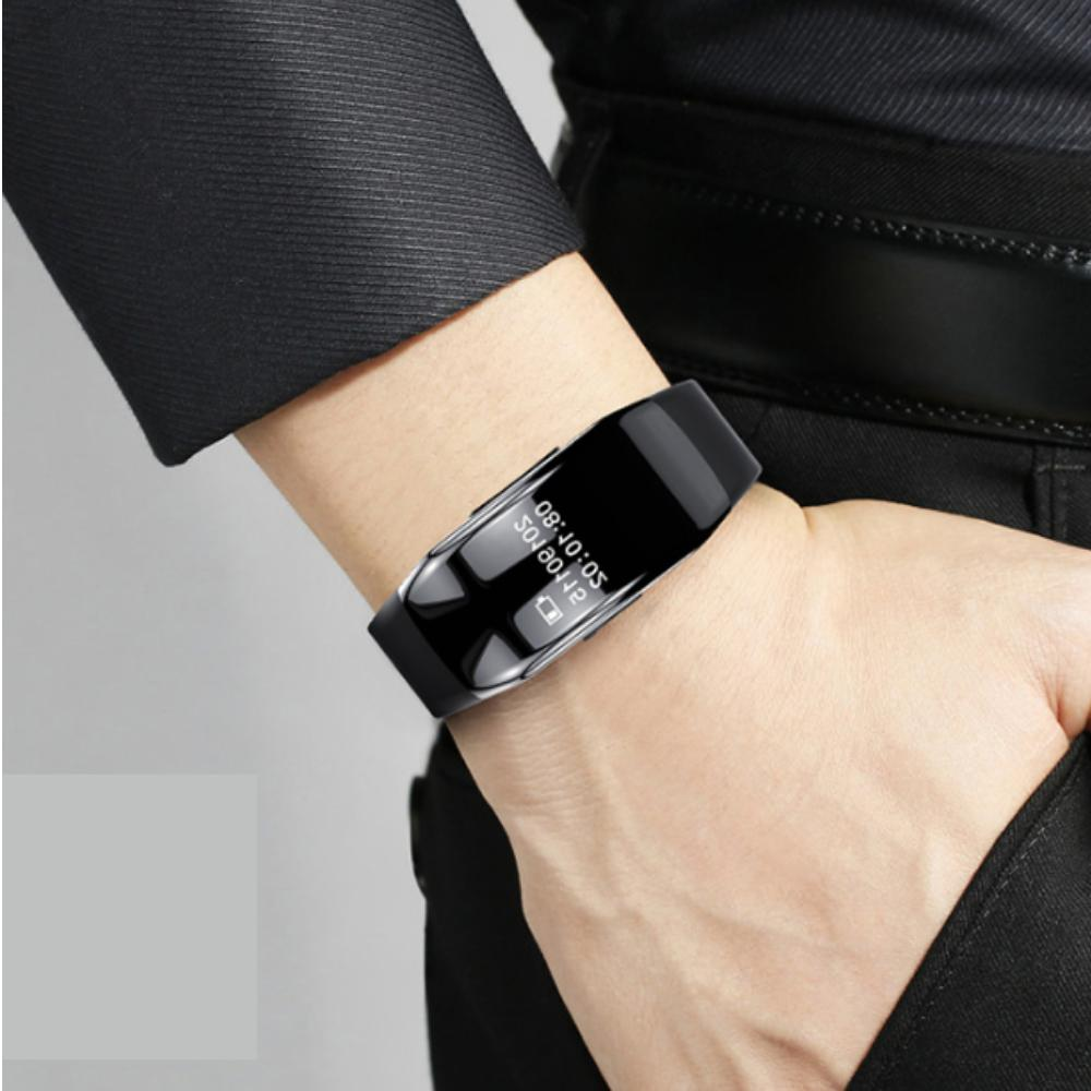 Spy Voice Recorder Watch with Camera Band