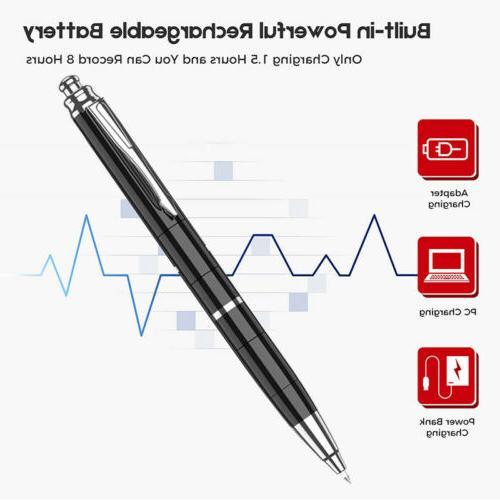 Spy Portable Activated Pen Audio DSP