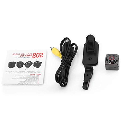 SQ8 High Definition Mini Camera TF Recorder Night DV Car DVR
