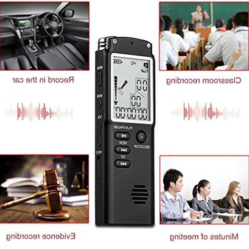 T60 Professional Recorder Display MP3