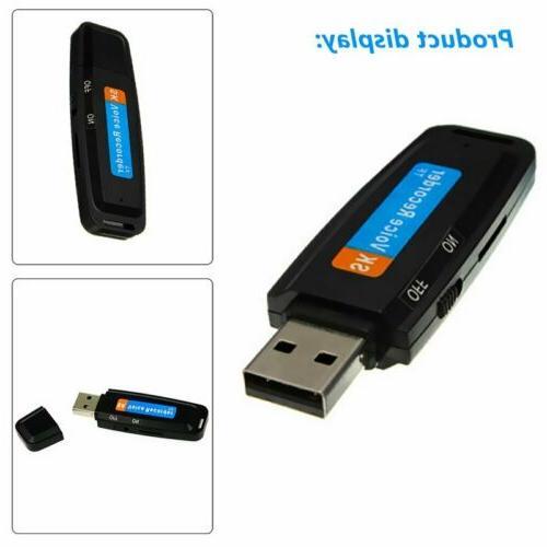 U-disk Digital Audio Recorder TF USB Flash Card Mini Voice P