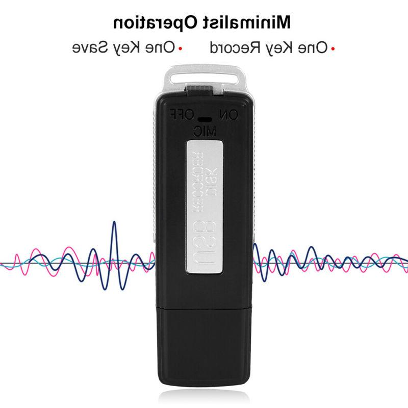 USB Mini Digital Spy 16GB Small Drive Audio 180H