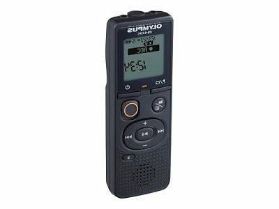 vn 541pc 4gb digital voice recorder black