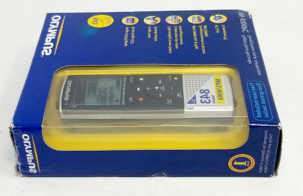 Olympus Recorder 2GB- 843 Rec MP3 WMA