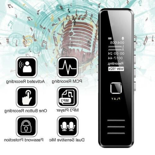 Voice Mini Spy Dictaphone MP3 Player