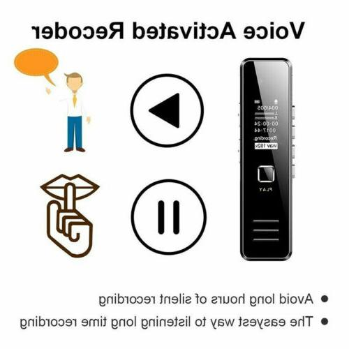 Voice Dictaphone MP3 Player