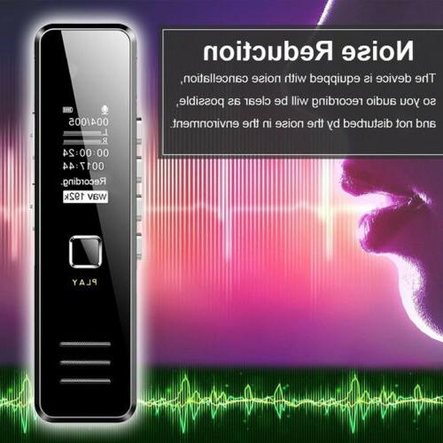 Voice Digital Dictaphone MP3 Player