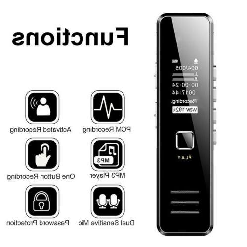 Voice Activate Mini Spy Digital Dictaphone Player
