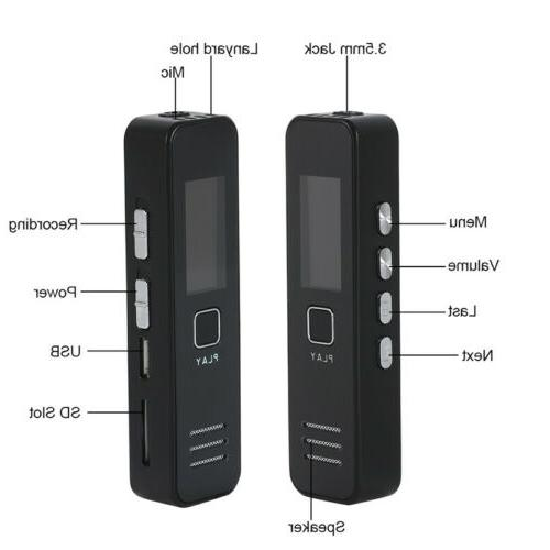 Voice Activate Digital Audio Dictaphone
