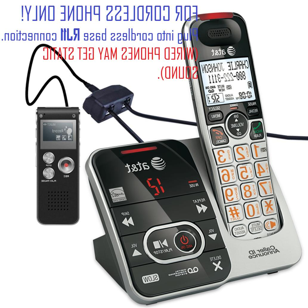 Voice Activated 8GB USB Landline Recording