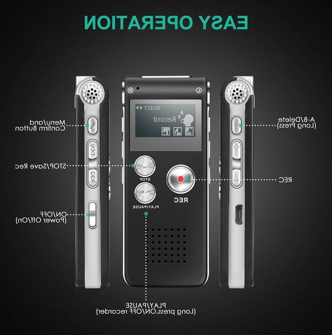 Digital Small MP3 Lecture