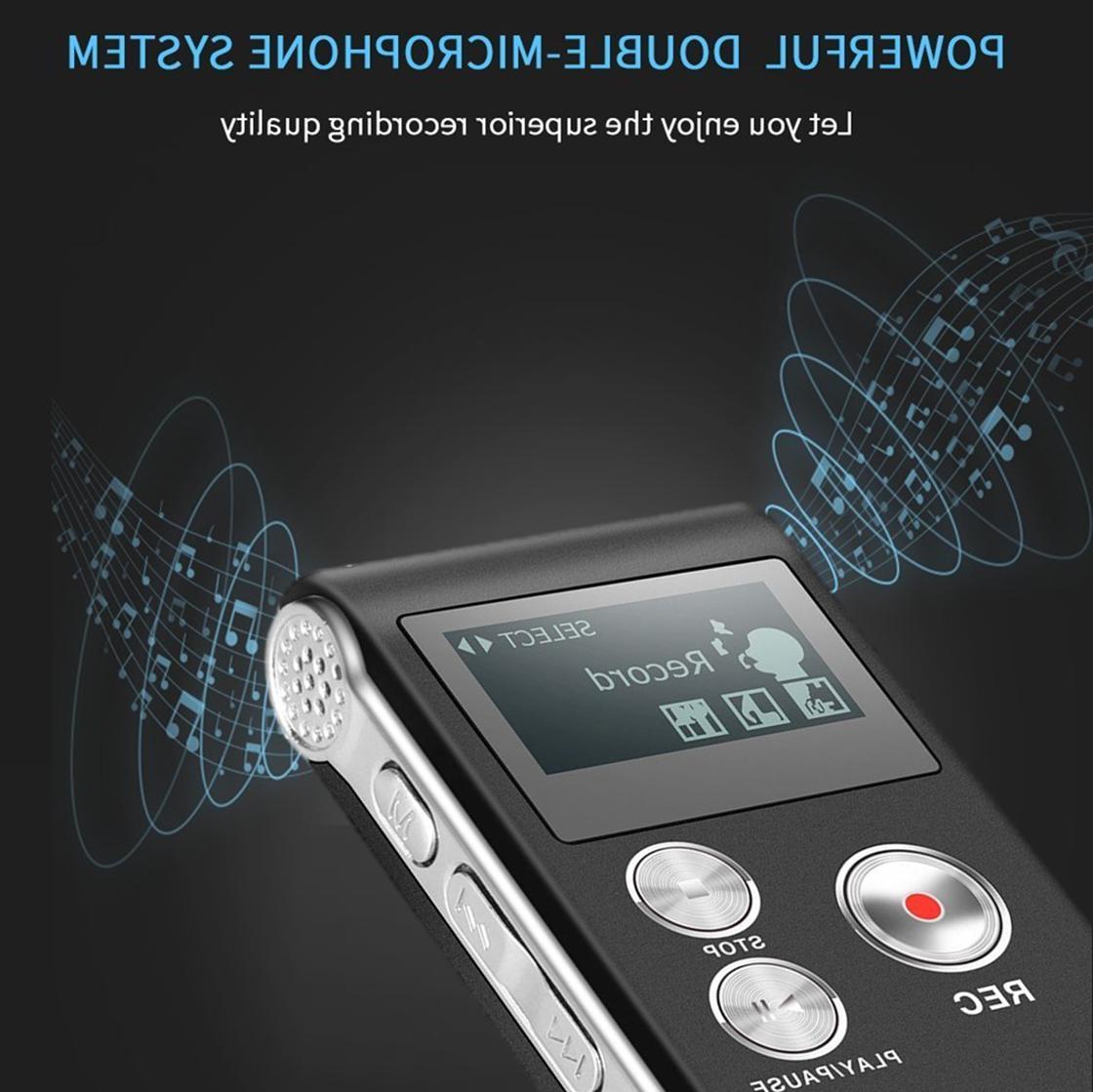 Voice Digital Recorder 8GB w Landline