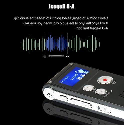 Voice Digital Audio MP3 Player