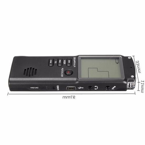 Voice Activated Mini Spy Digital Sound Dictaphone