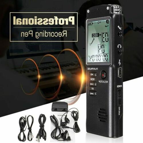 voice activated mini spy digital sound audio