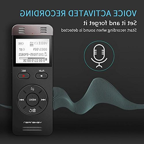 Digital Yemenren Sound Recorder Dictaphone