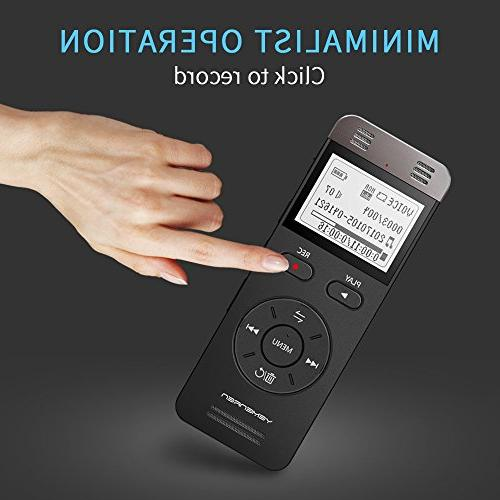 Digital Activated Yemenren Sound Recorder Dictaphone for