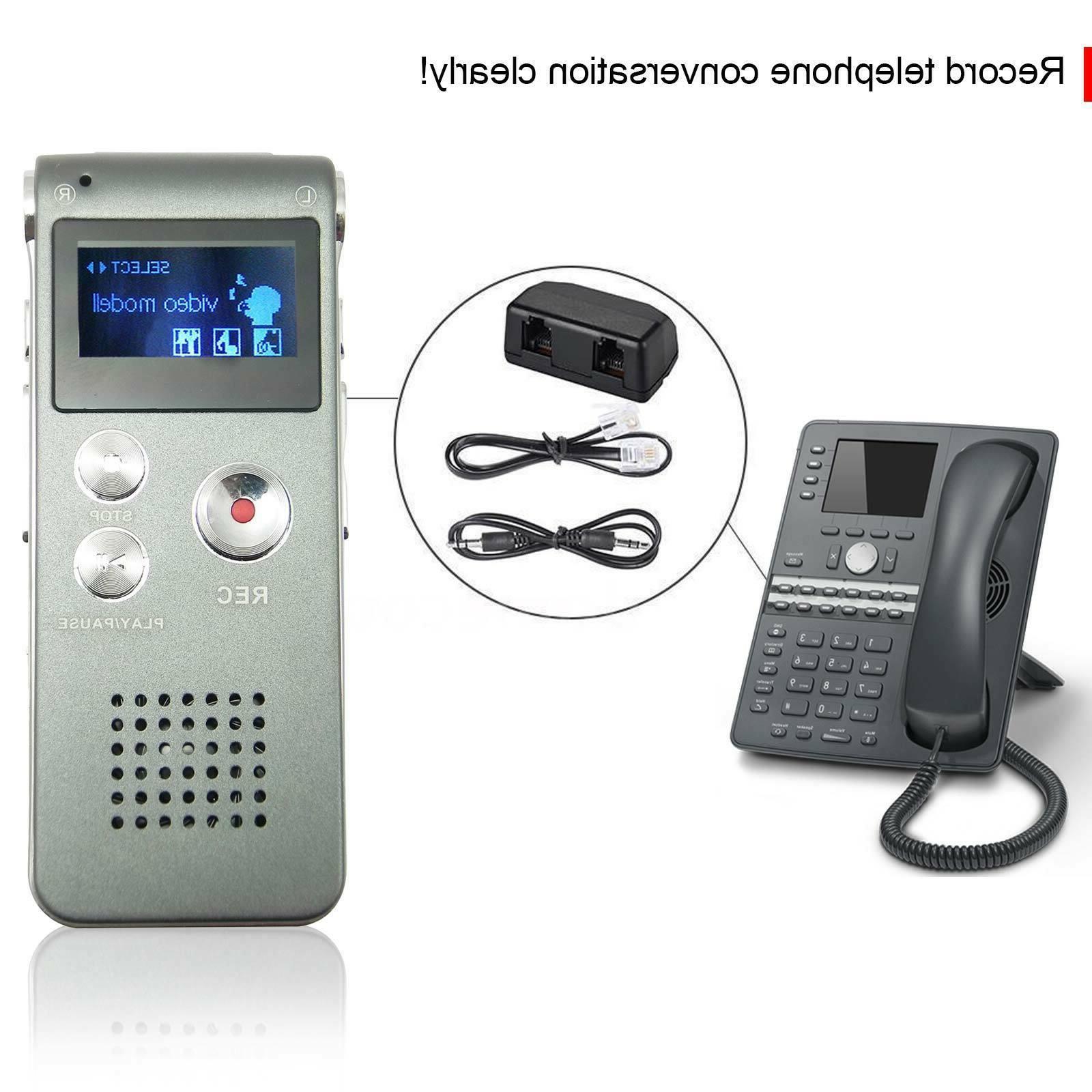 Voice Digital Recorder Dictaphone MP3