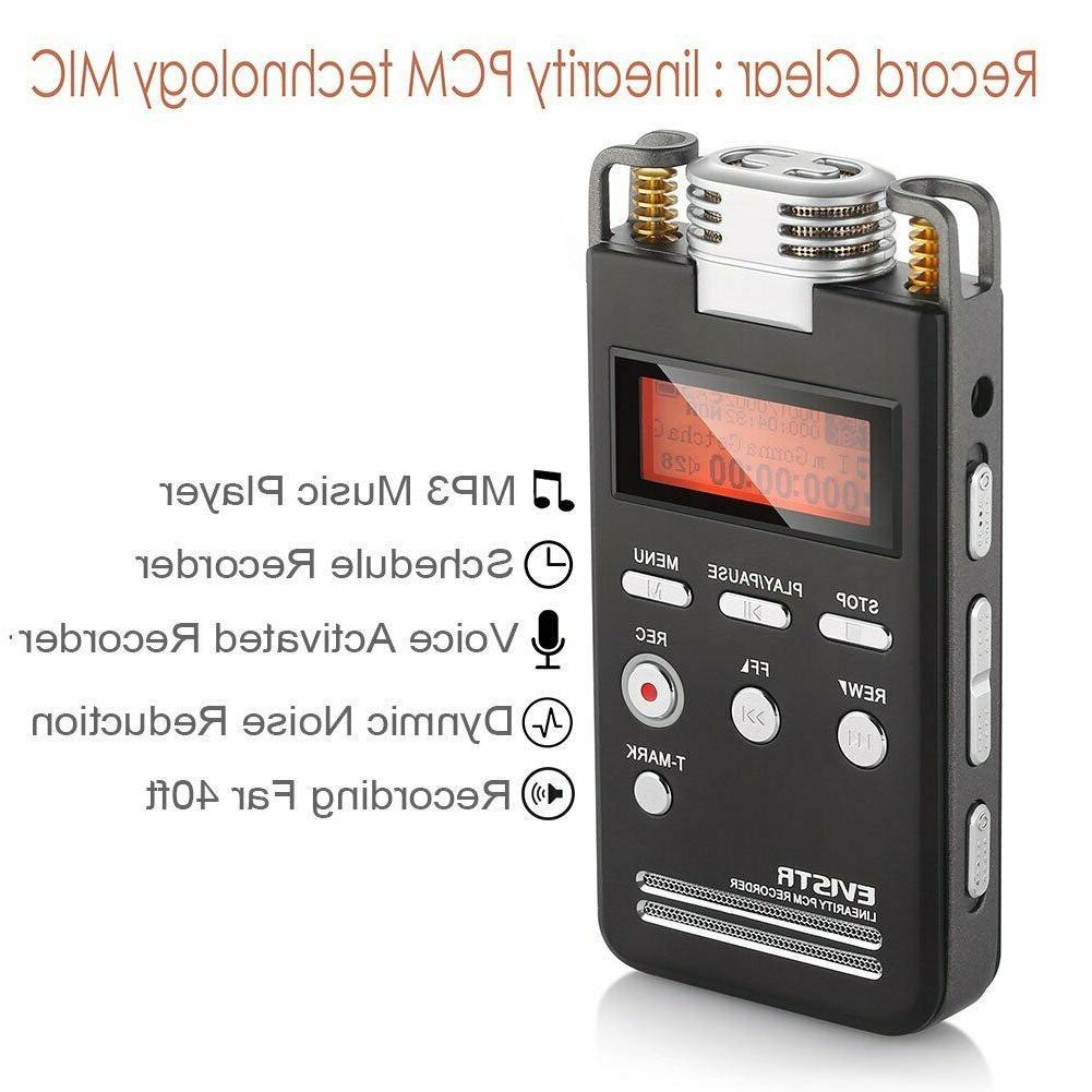 voice recorder 8gb pro pcm 1536k clear