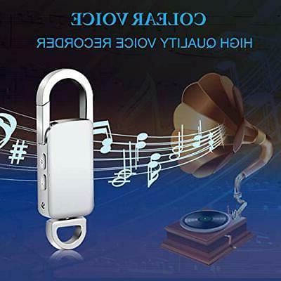 Voice Recorder, 8GB USB Audio Metal Casing Digital