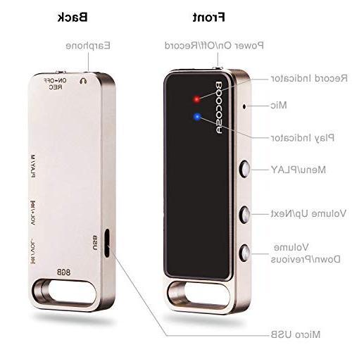 Digital Voice 8GB Audio Recorder USB Sound Recorder VR002
