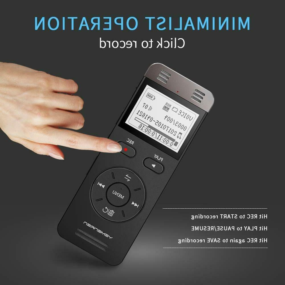 Digital Voice Recording Recorder