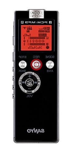 Sanyo Sanyo Voice Recorder Usb 2Gb Speed Control 26Hrs Recor