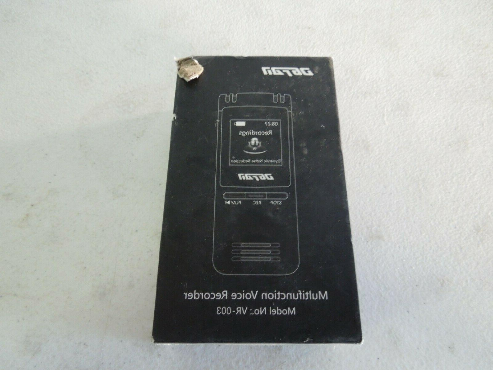voice recorder vr 003 8gb multifunction voice