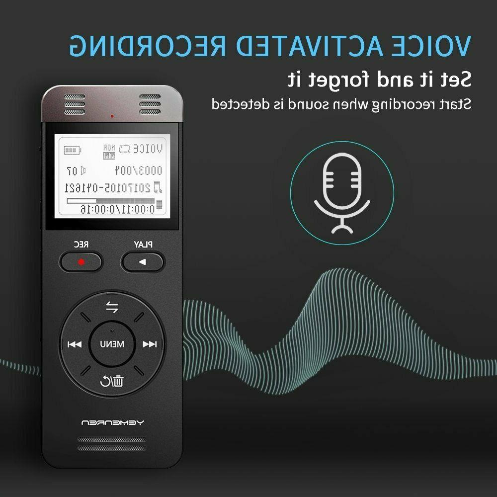 Digital Audio Recording Recorder Player-Lecture