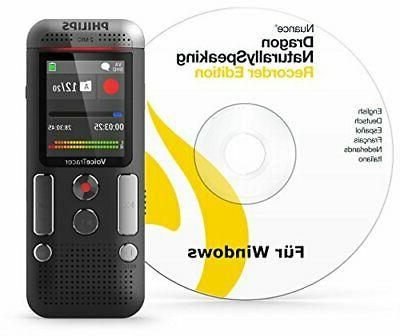 voice tracer digital audio recorder with speech