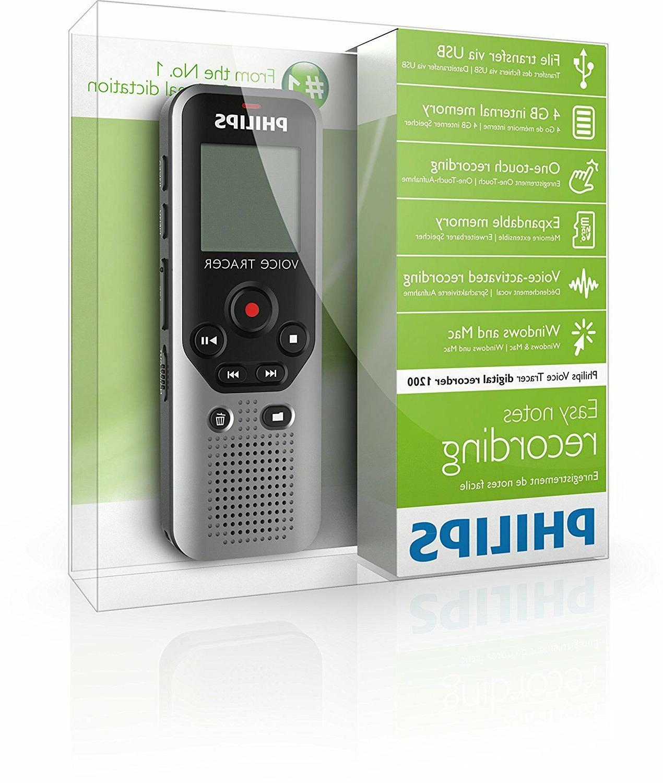 Philips Tracer DVT1200 4GB New
