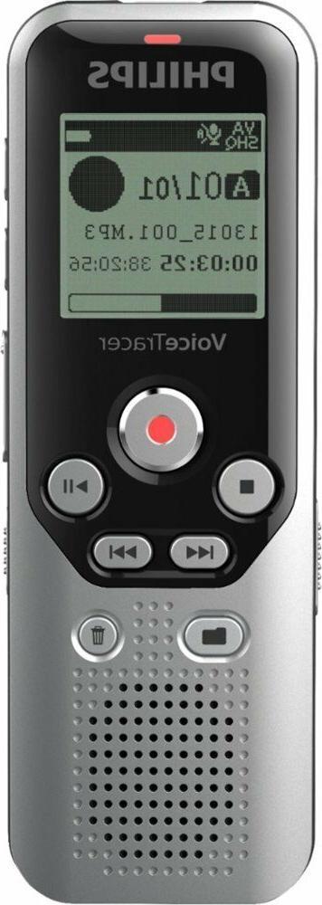 voicetracer digital audio recorder dark silver