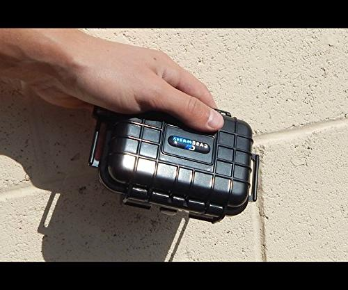 CASEMATIX Waterproof Digital Recorder L57, R3 Recorder More Holds One Dictaphone 4 Inches with and Cable