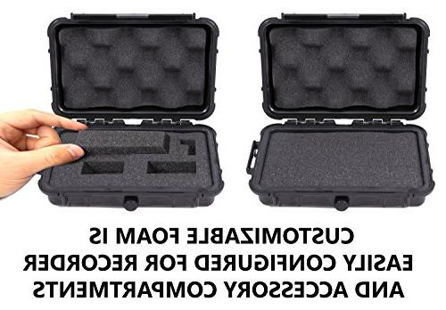 CASEMATIX Voice Hard Case Digital Recorder VP-10 / / VN-721PC VN-701PC / WS-821 / WS-822 and Accessories