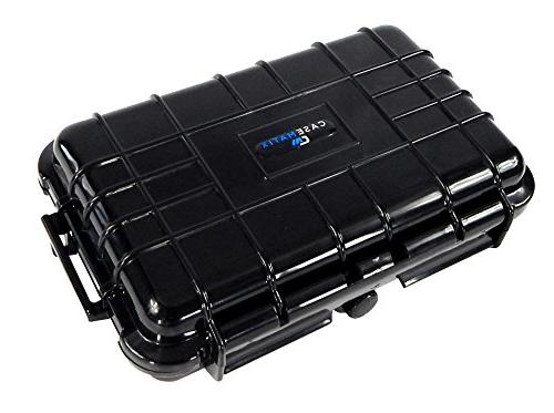 CASEMATIX Waterproof Hard Case Digital Recorder WS-852 VP-10 VN-722PC VN-721PC / VN-701PC / VN-7200 WS-821 / WS-823 and