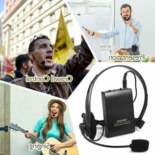 Wireless Microphone Speech Clip w/