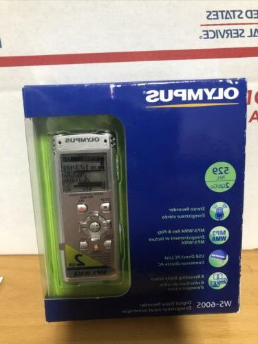 ws 600s digital voice recorder 140151 silver