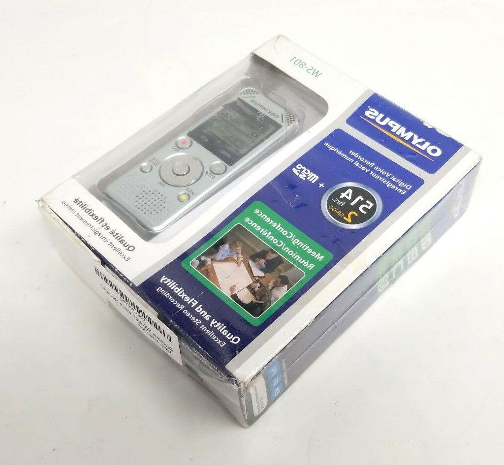 Olympus WS-801 Voice Recorder HRS -