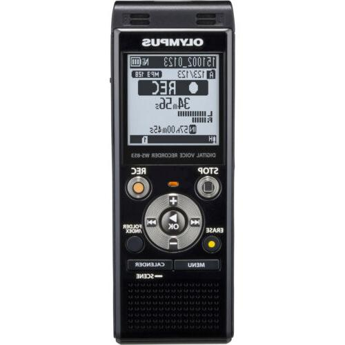 Olympus WS853 Digital Voice Recorder 8GB with Built-in USB p