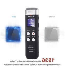EVISTR L157B 16GB Digital Voice Recorder
