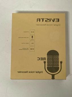 EVISTR L157B 16GB Digital Voice Recorder New In Box