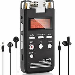 EVISTR L53 Digital Voice Recorder Dictaphone 8GB PCM 1536K C