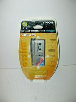 Sony M-530V Micro Cassette Voice Recorder