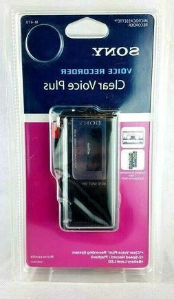 Sony M470 Voice Recorder Handheld Microcassette Brand New Un