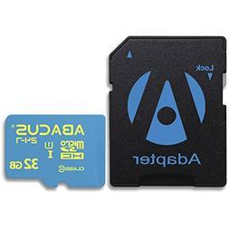 Abacus24-7 32GB microSD Memory Card for Zoom H1, Q2n, Q4n, H