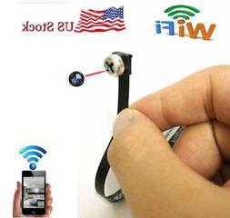 Mini 720P network WIFI IP wireless screw spy hidden camera v