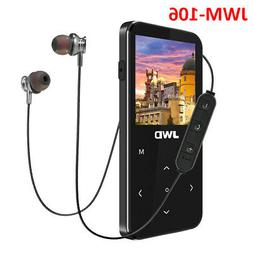 JWD JWM-106 8GB Bluetooth Loseless Mp3 MP4 Player Support FM